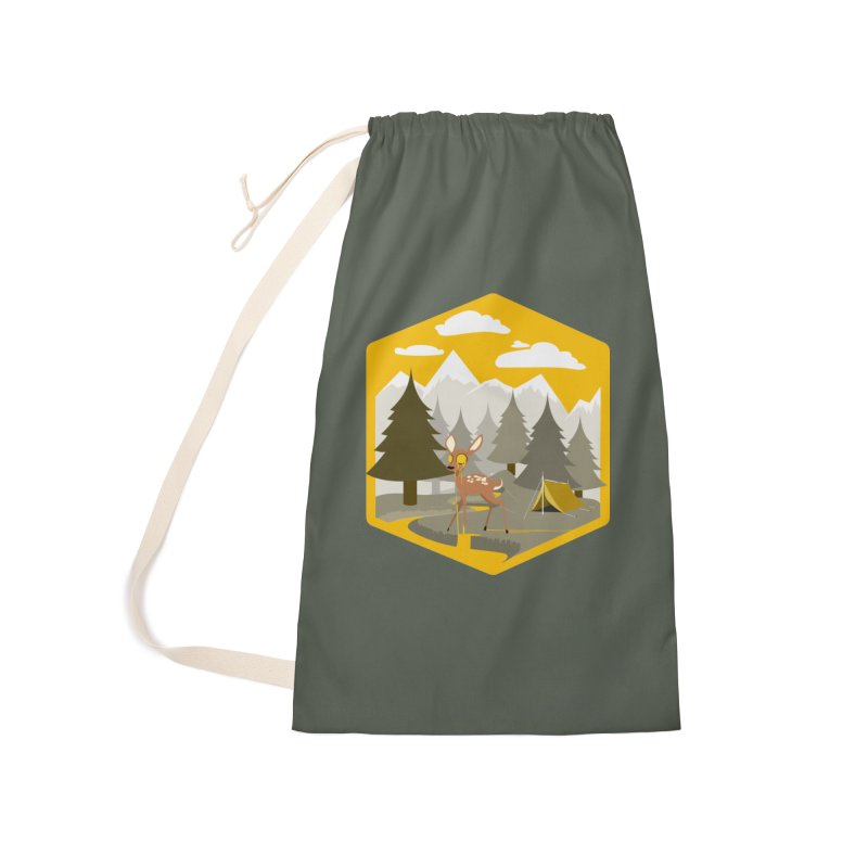 Yellowstoned Accessories Laundry Bag Bag by