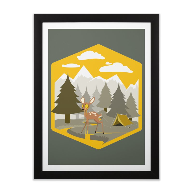Yellowstoned Home Framed Fine Art Print by