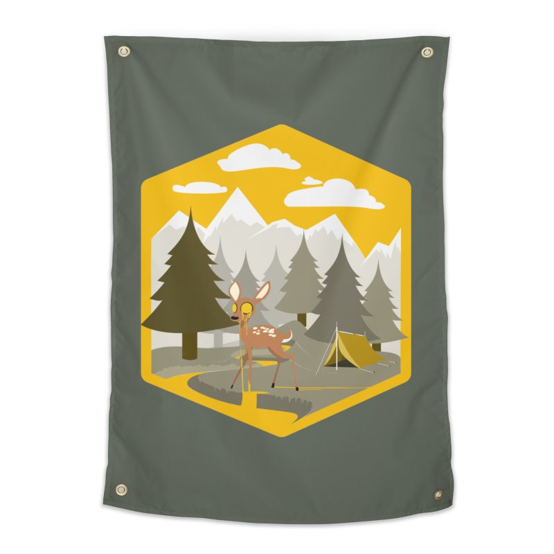Yellowstoned Home Tapestry by