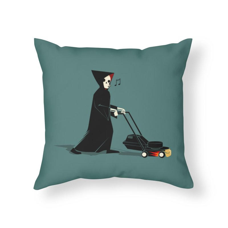 Upgrade Home Throw Pillow by