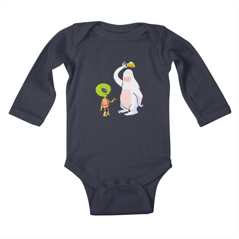 The incredibles Kids Baby Longsleeve Bodysuit by