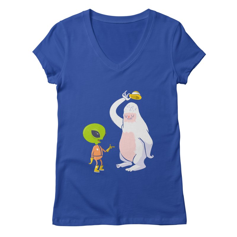 The incredibles Women's Regular V-Neck by