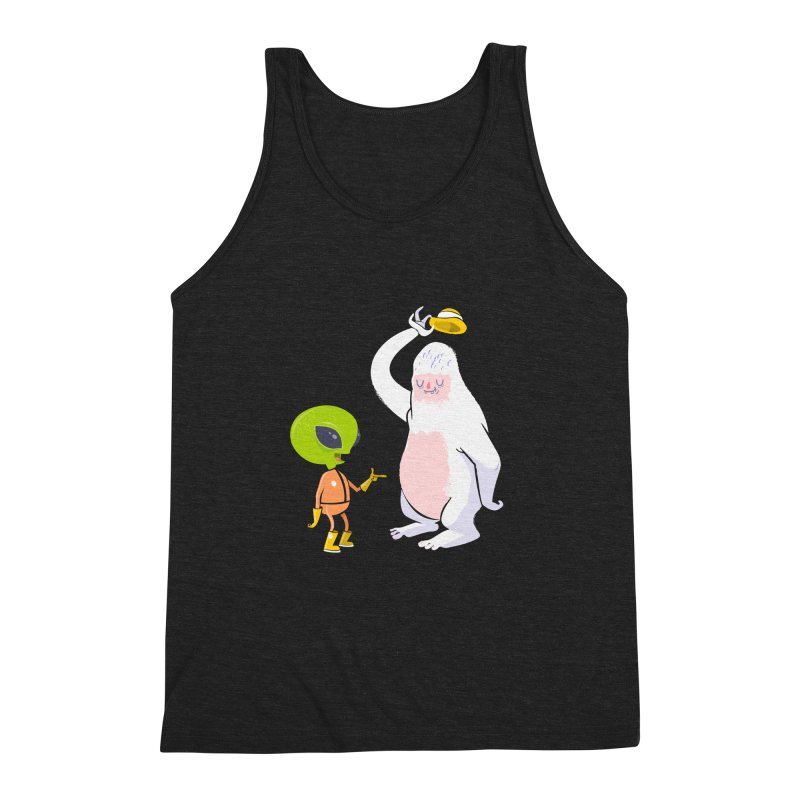 The incredibles Men's Triblend Tank by