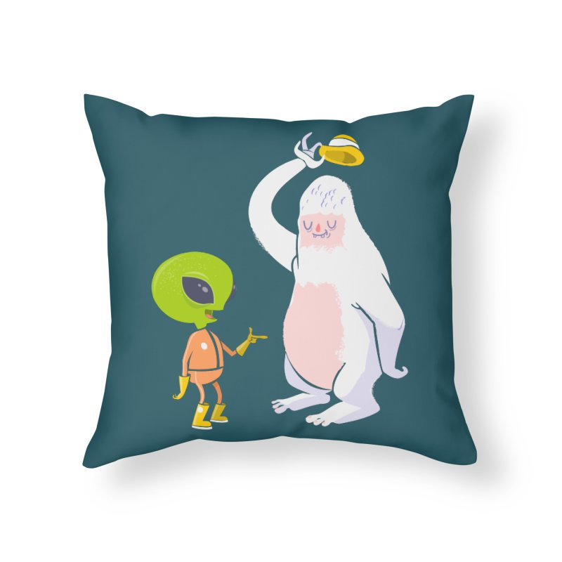 The incredibles Home Throw Pillow by