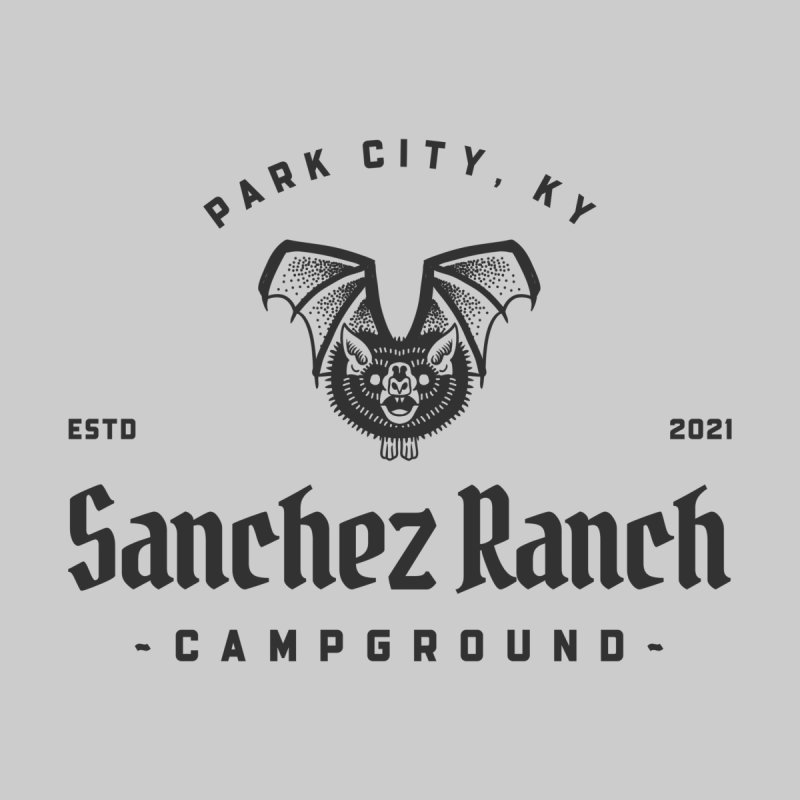 Sanchez Ranch Campgrounc HAUS Throw Pillow by Werking Gurl