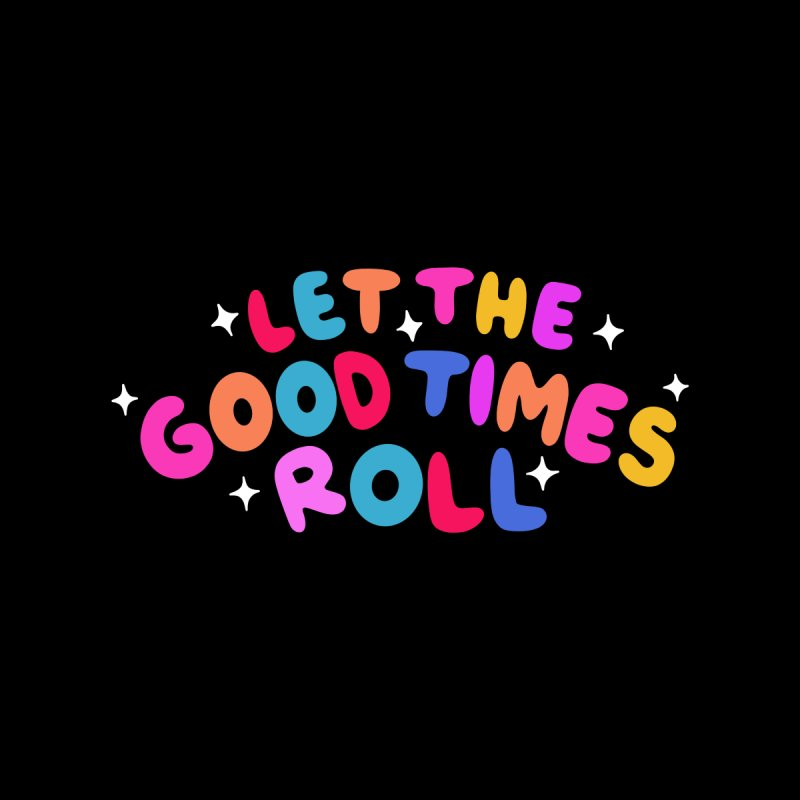 Let The Good Times Roll HAUS Duvet by Werking Gurl