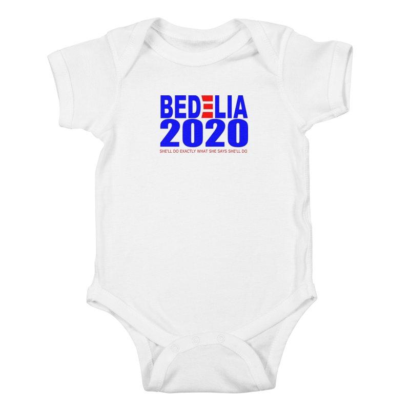 Bedelia 2020 Kids Baby Bodysuit by Wessel Guitars and Amplifiers Merch Shop
