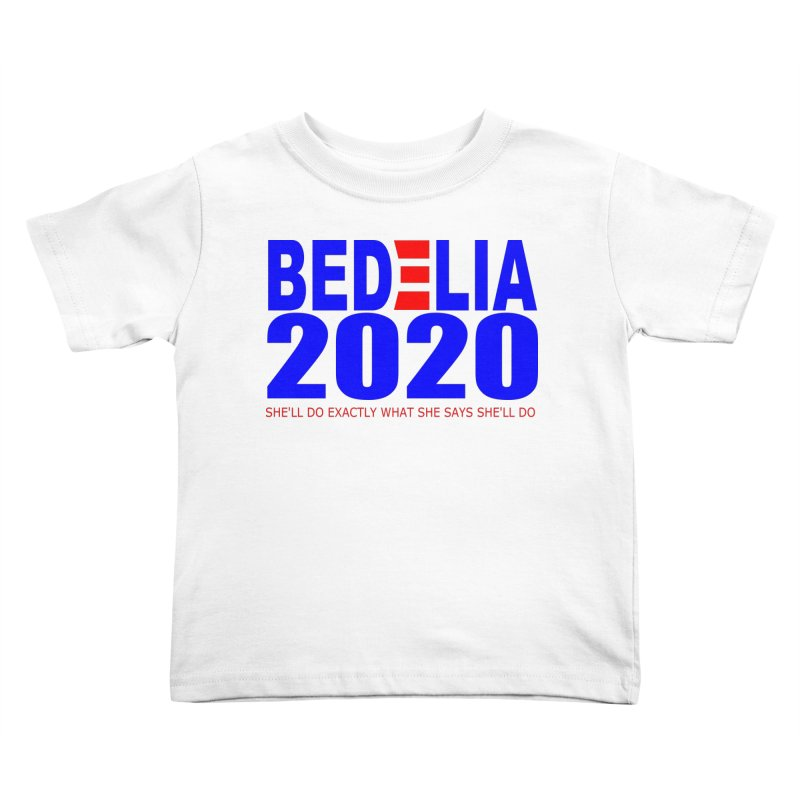 Bedelia 2020 Kids Toddler T-Shirt by Wessel Guitars and Amplifiers Merch Shop