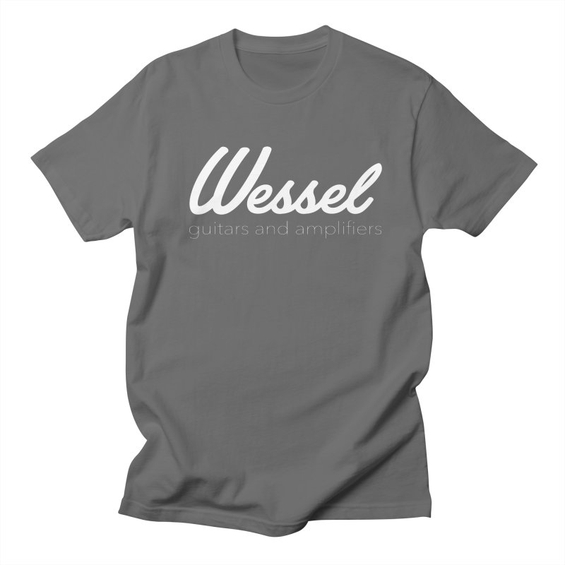 Wessel Guitars and Amplifiers Men's T-Shirt by Wessel Guitars and Amplifiers Merch Shop