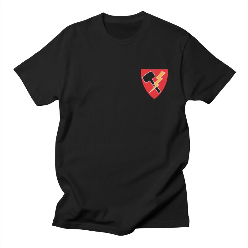 Wessel Guitars and Amplifiers - Thundershield Men's T-Shirt by Wessel Guitars and Amplifiers Merch Shop