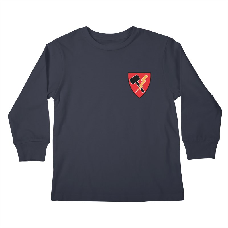 Wessel Guitars and Amplifiers - Thundershield Kids Longsleeve T-Shirt by Wessel Guitars and Amplifiers Merch Shop