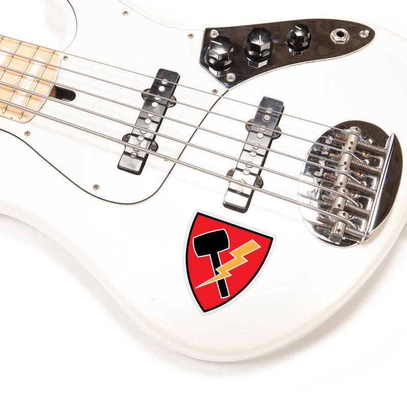 Wessel Guitars and Amplifiers - Thundershield Accessories Sticker by Wessel Guitars and Amplifiers Merch Shop