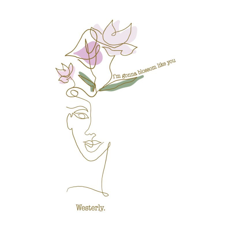 Blossom Accessories Sticker by Westerly Merch