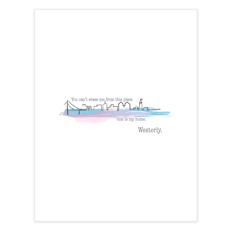 This is My Home Home Fine Art Print by Westerly Merch
