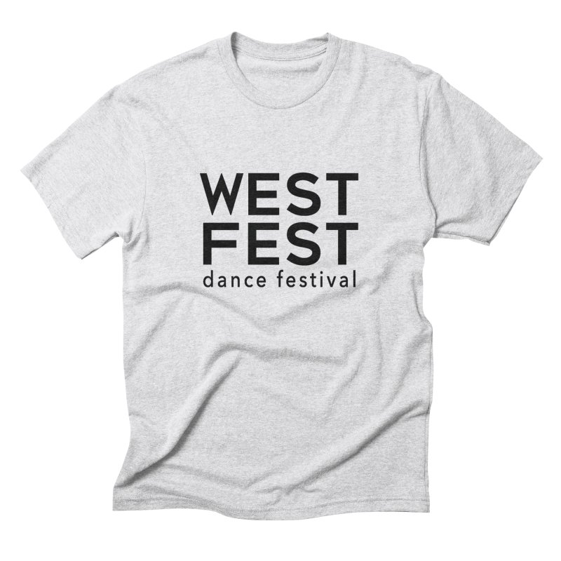 WestFest Logo Black Men's T-Shirt by WestFest's Artist Shop