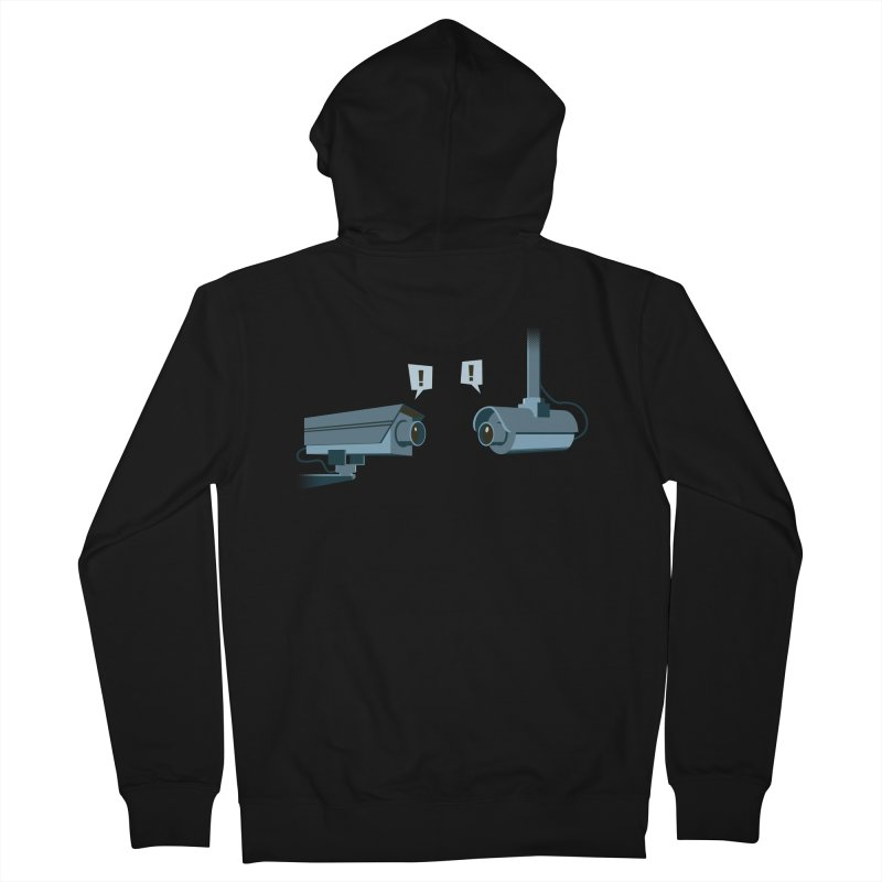 a close encounter with the same kind Men's French Terry Zip-Up Hoody by westhill's Artist Shop