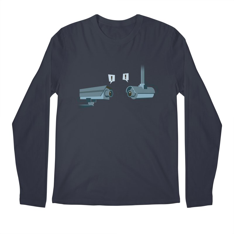 a close encounter with the same kind Men's Longsleeve T-Shirt by westhill's Artist Shop