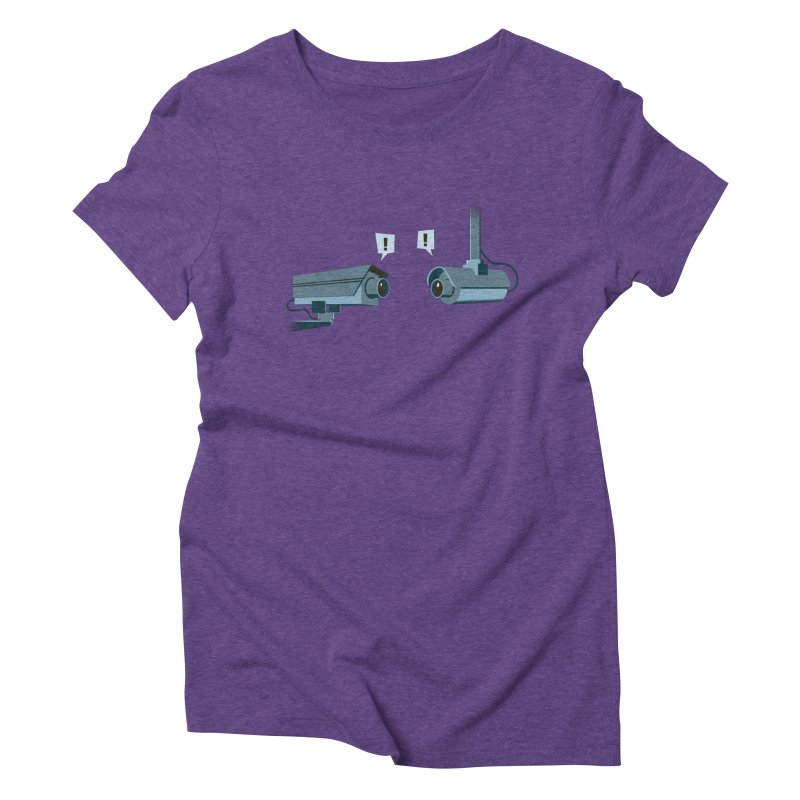 a close encounter with the same kind Women's Triblend T-Shirt by westhill's Artist Shop