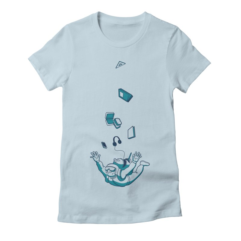 Wrong Bag Women's Fitted T-Shirt by westhill's Artist Shop