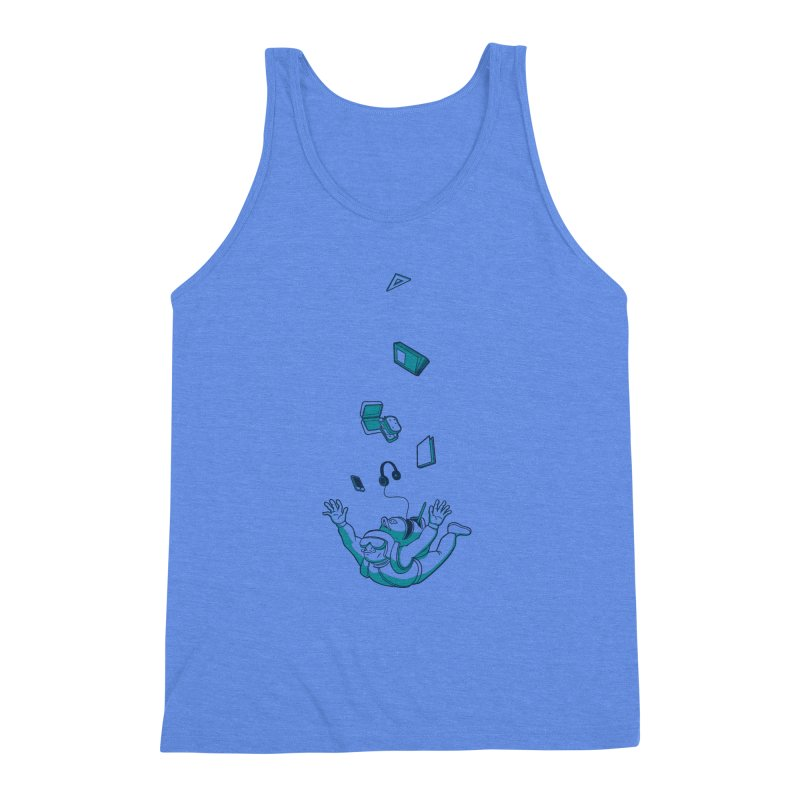 Wrong Bag Men's Triblend Tank by westhill's Artist Shop