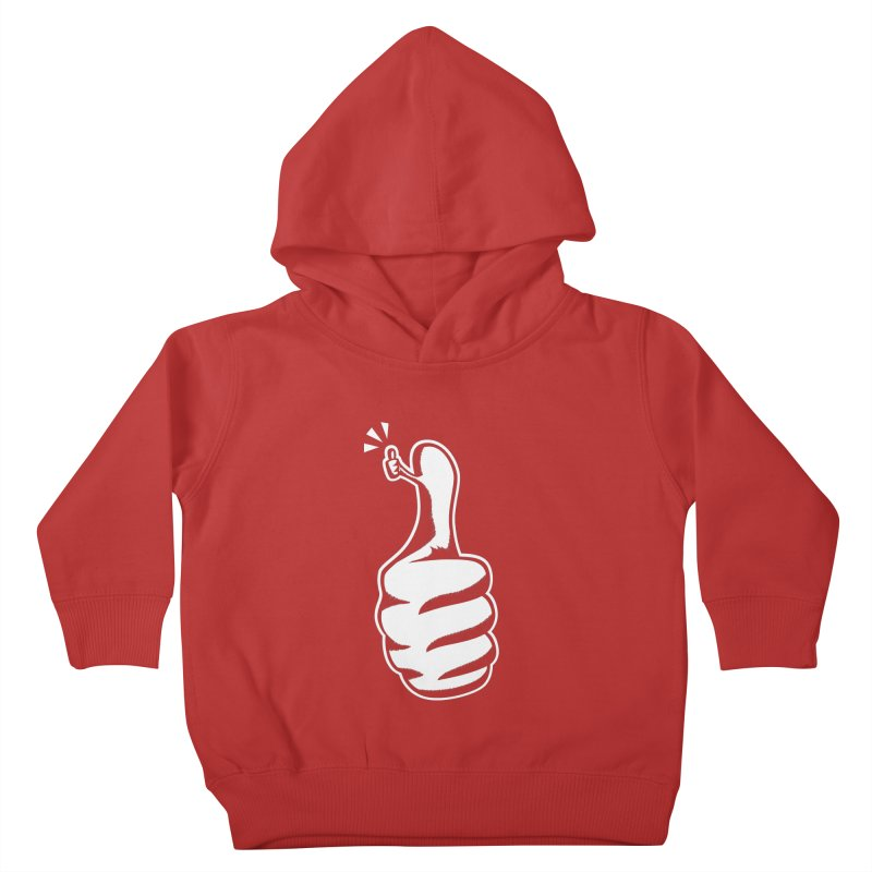 Double Thumbs Up! Kids Toddler Pullover Hoody by westhill's Artist Shop