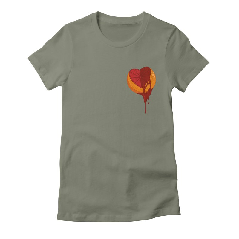 Sweet Bitter Love Women's Fitted T-Shirt by westhill's Artist Shop