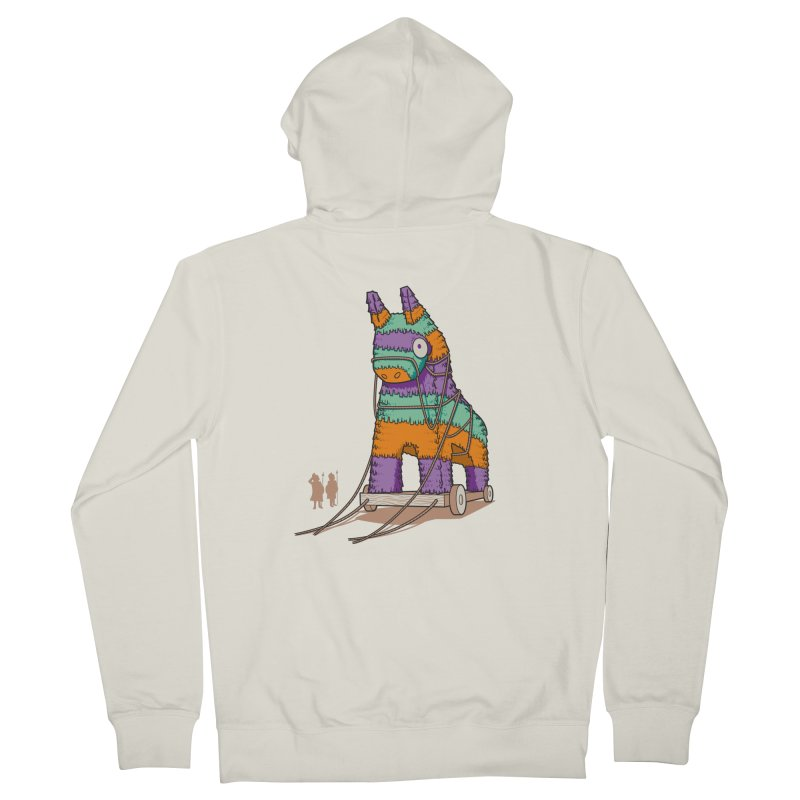 Surprise Party Men's French Terry Zip-Up Hoody by westhill's Artist Shop