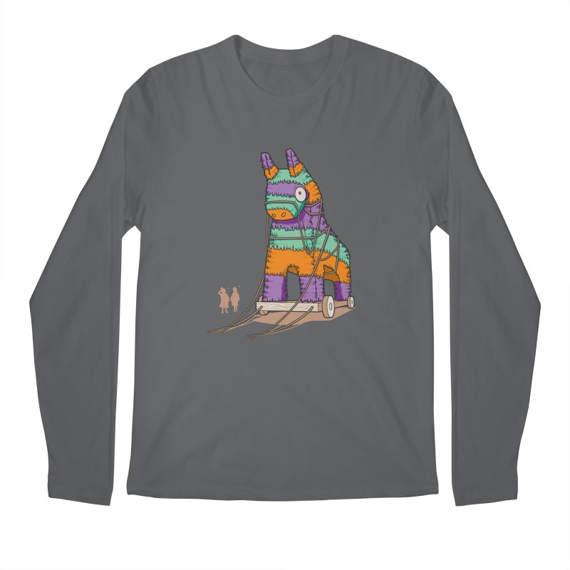 Surprise Party Men's Regular Longsleeve T-Shirt by westhill's Artist Shop