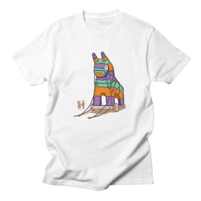Surprise Party Men's T-shirt by westhill's Artist Shop