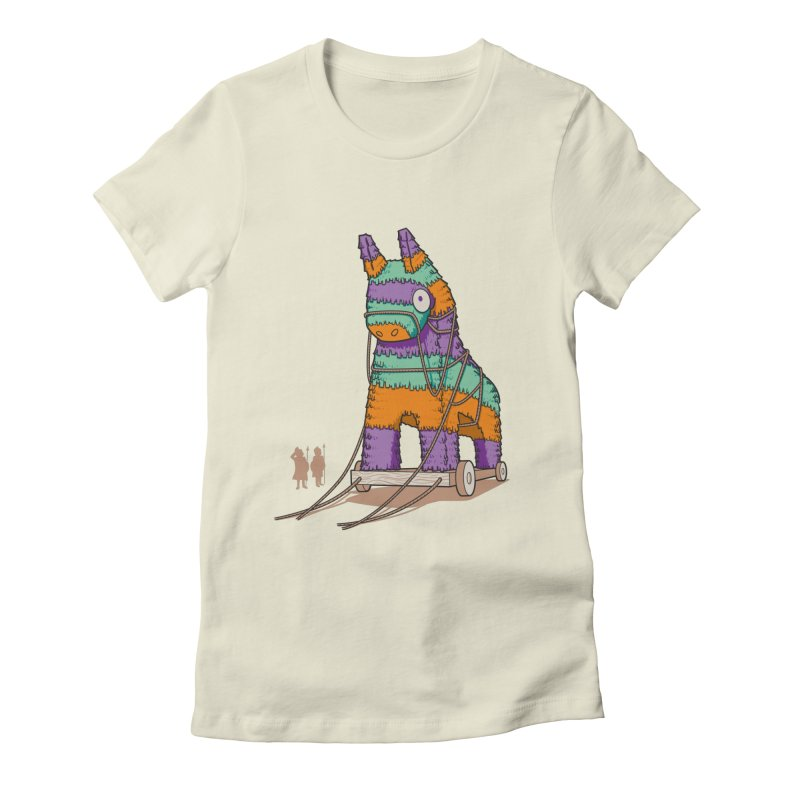 Surprise Party Women's Fitted T-Shirt by westhill's Artist Shop