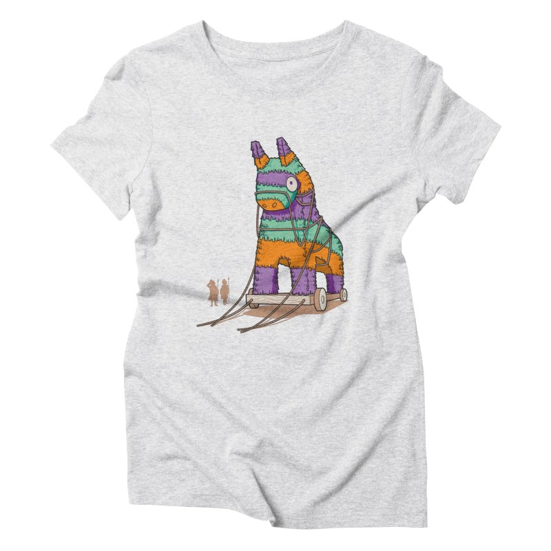 Surprise Party Women's Triblend T-Shirt by westhill's Artist Shop
