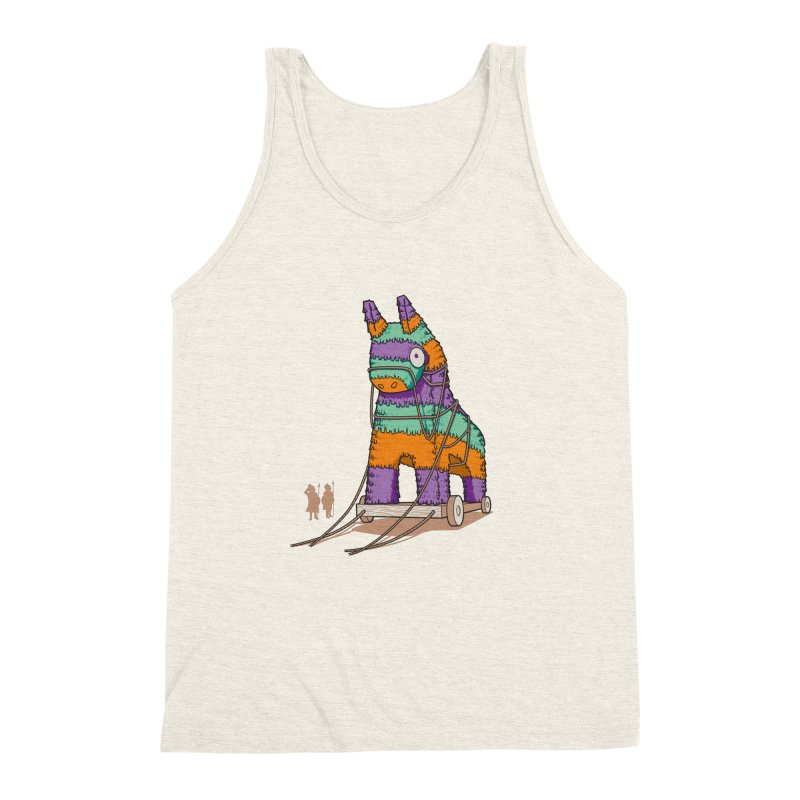 Surprise Party Men's Triblend Tank by westhill's Artist Shop