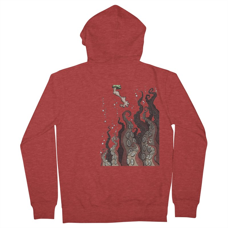 That's Probably Just Seaweed Men's Zip-Up Hoody by westinchurch's Artist Shop