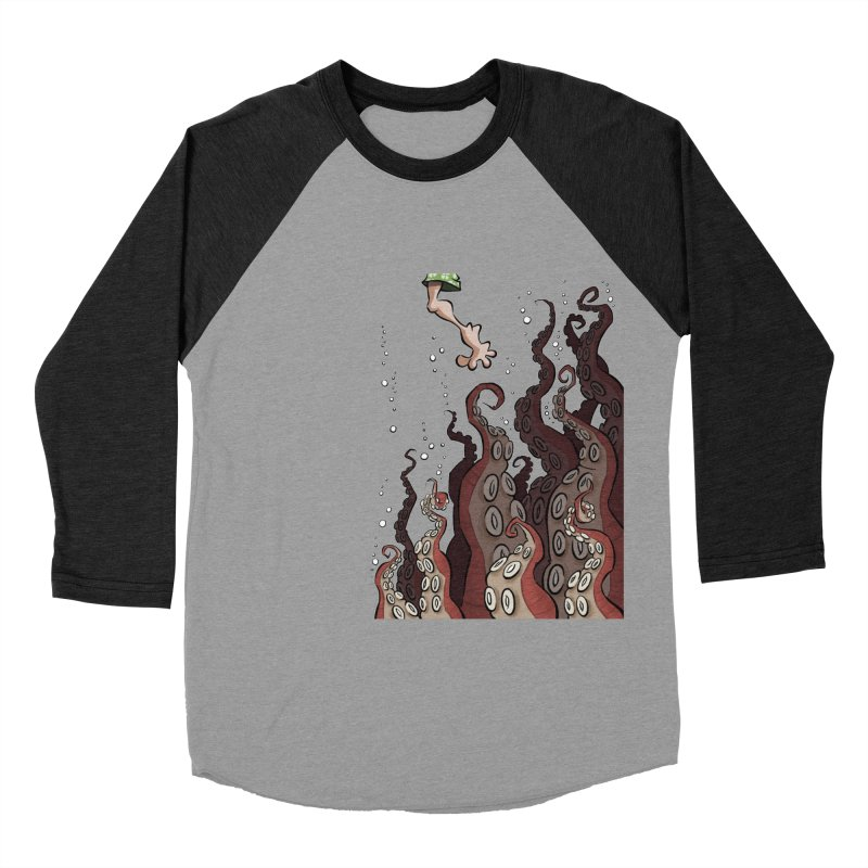 That's Probably Just Seaweed Women's Baseball Triblend T-Shirt by westinchurch's Artist Shop