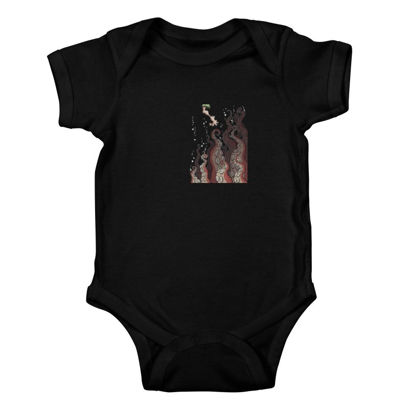 That's Probably Just Seaweed Kids Baby Bodysuit by westinchurch's Artist Shop