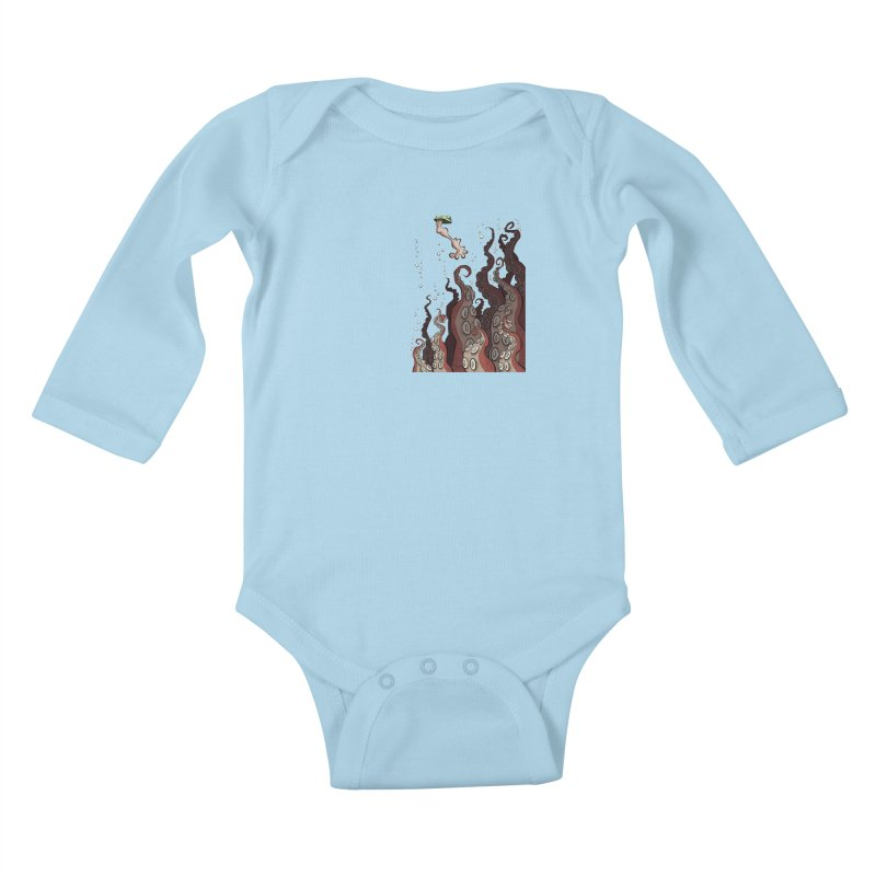 That's Probably Just Seaweed Kids Baby Longsleeve Bodysuit by westinchurch's Artist Shop