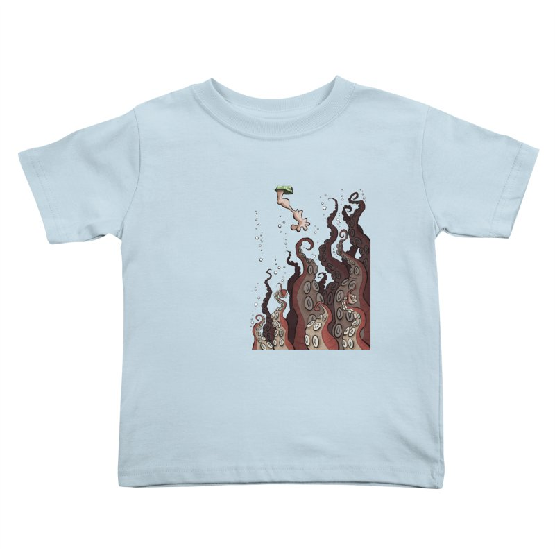 That's Probably Just Seaweed Kids Toddler T-Shirt by westinchurch's Artist Shop