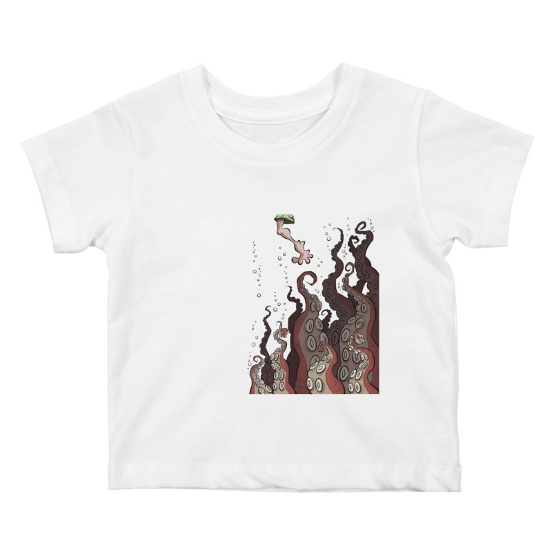 That's Probably Just Seaweed Kids Baby T-Shirt by westinchurch's Artist Shop