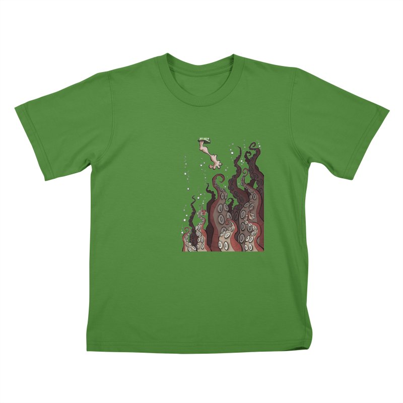 That's Probably Just Seaweed Kids T-shirt by westinchurch's Artist Shop