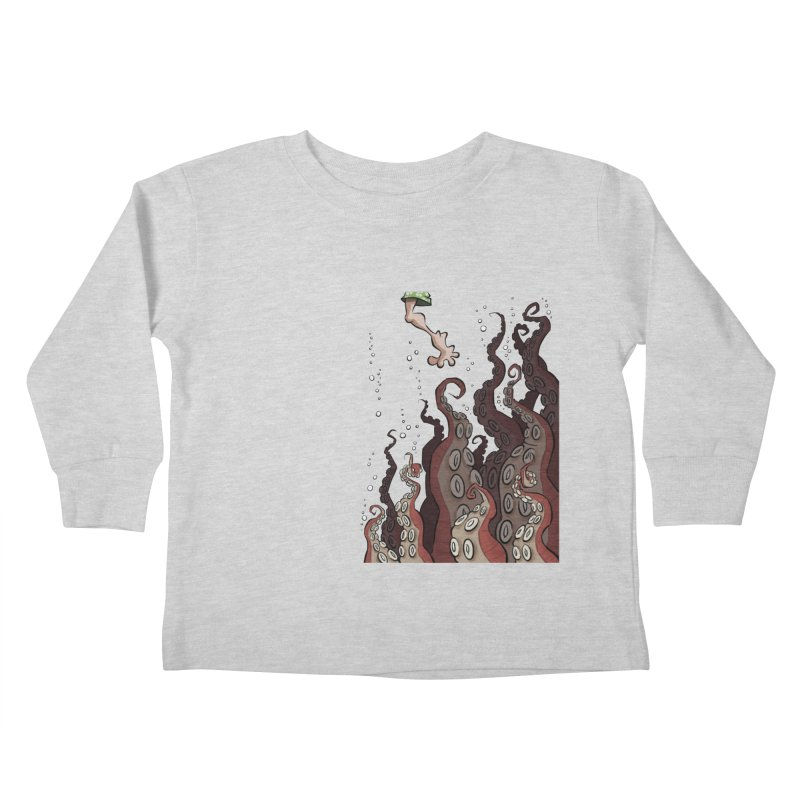 That's Probably Just Seaweed Kids Toddler Longsleeve T-Shirt by westinchurch's Artist Shop