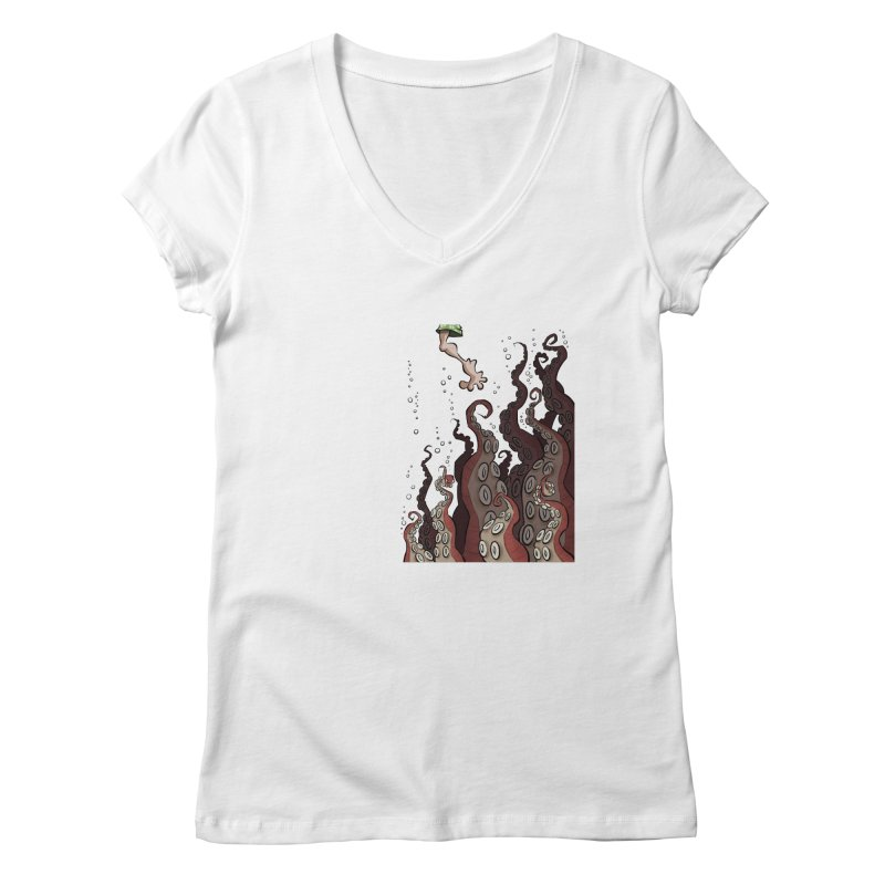That's Probably Just Seaweed Women's V-Neck by westinchurch's Artist Shop