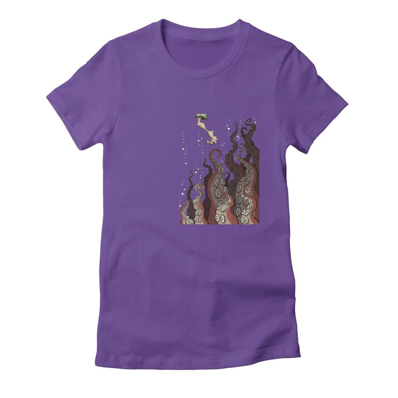 That's Probably Just Seaweed Women's Fitted T-Shirt by westinchurch's Artist Shop