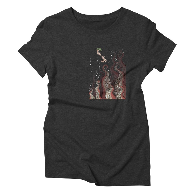 That's Probably Just Seaweed Women's Triblend T-shirt by westinchurch's Artist Shop