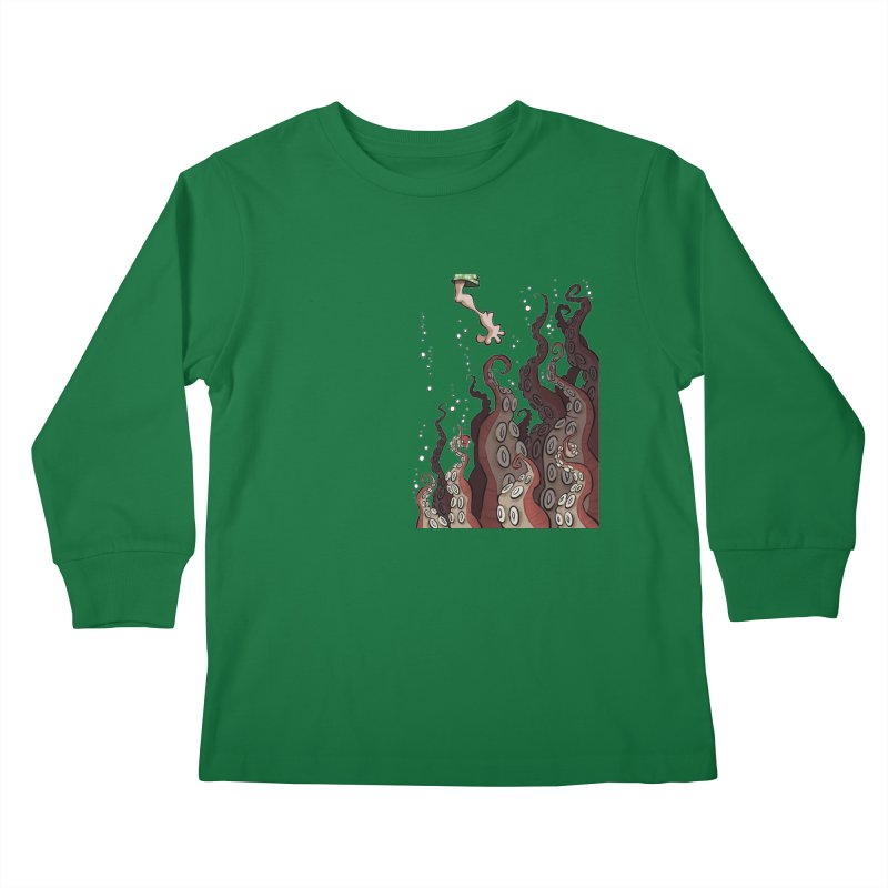 That's Probably Just Seaweed Kids Longsleeve T-Shirt by westinchurch's Artist Shop