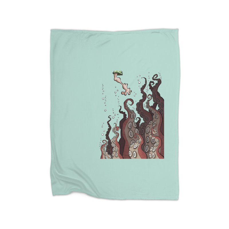 That's Probably Just Seaweed Home Blanket by westinchurch's Artist Shop