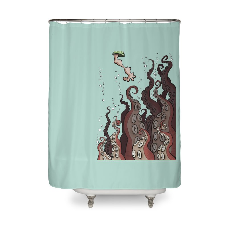That's Probably Just Seaweed Home Shower Curtain by westinchurch's Artist Shop