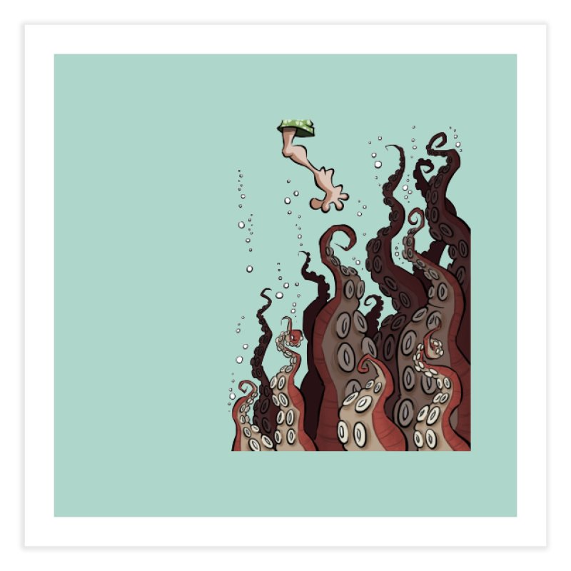 That's Probably Just Seaweed Home Fine Art Print by westinchurch's Artist Shop