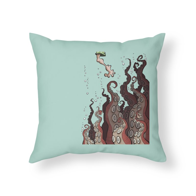 That's Probably Just Seaweed Home Throw Pillow by westinchurch's Artist Shop