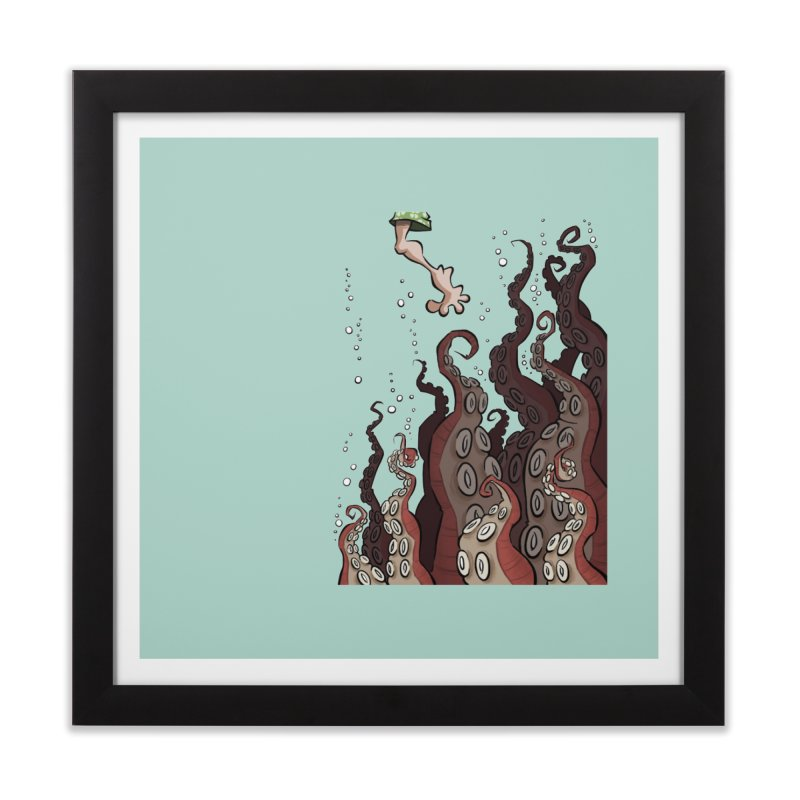 That's Probably Just Seaweed Home Framed Fine Art Print by westinchurch's Artist Shop