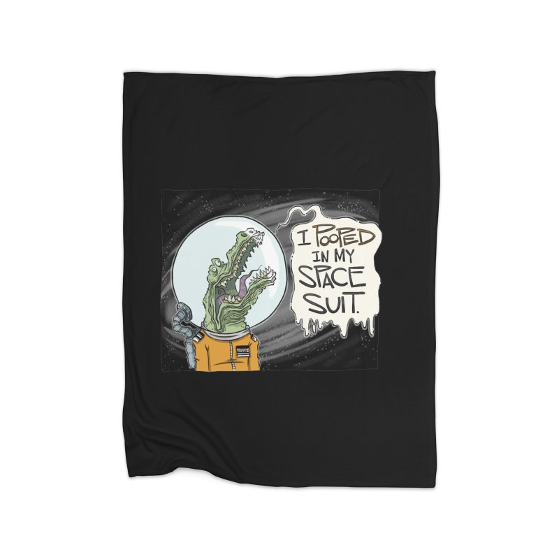I Pooped in my Spacesuit. Home Blanket by westinchurch's Artist Shop